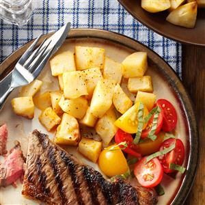 Oven-Fried Potatoes Recipe