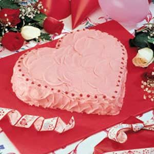 Strawberry Heart Cake Recipe