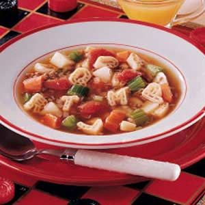 Scrabble Soup Recipe