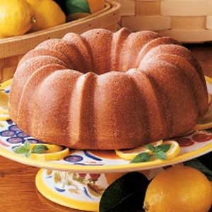 Glazed Lemon Bundt Cake Recipe