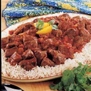 Salsa Beef Skillet Recipe
