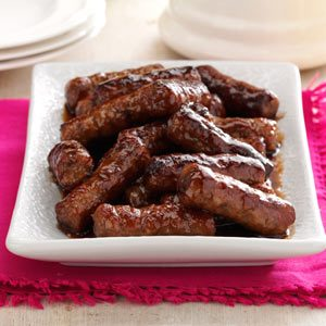 Maple-Glazed Sausages