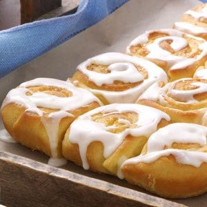 Grandma's Orange Rolls Recipe