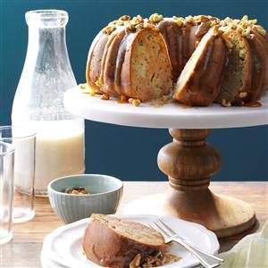Caramel Apple Coffee Cake with Walnuts Recipe