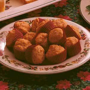 Tomato Mini Muffins Recipe
