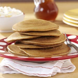 Gingerbread Pancakes with Banana Cream Recipe