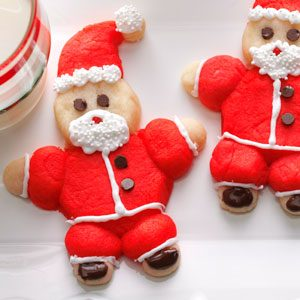Roly-Poly Santas Recipe