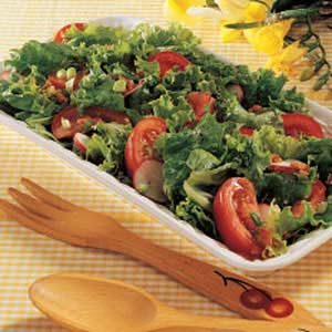 Salad with Hot Italian Dressing Recipe