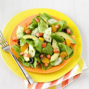 Summer Salads with Mandarin Oranges Recipe