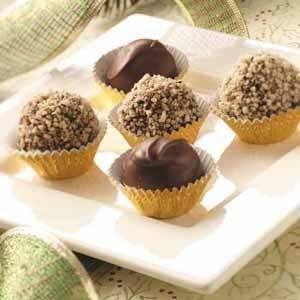 Chocolate Cinnamon Mud Balls Recipe