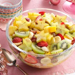 Refreshing Tropical Fruit Salad Recipe
