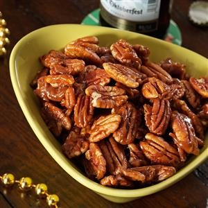 Candied Pumpkin Spice Pecans Recipe