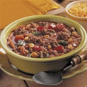 Beef and Veggie Soup Recipe