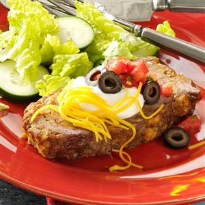 Family Favorite Taco Meat Loaf Recipe