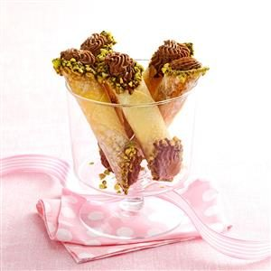 Chocolate Anise Cannoli Recipe