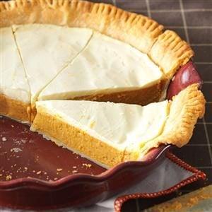Sour Cream Pumpkin Pie Recipe