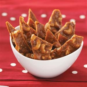 Coconut Cashew Brittle Recipe