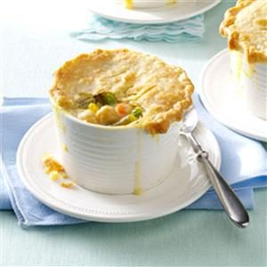 Chickpea Potpies Recipe