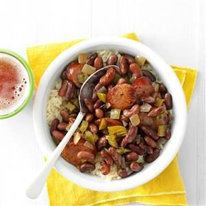 Slow Cooker Red Beans & Sausage Recipe