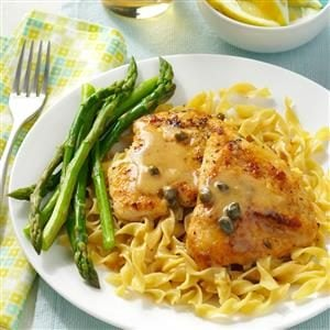 Easy Chicken Piccata