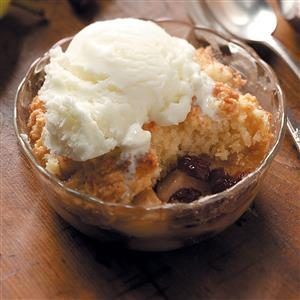 Cranberry Pear Cobblers Recipe