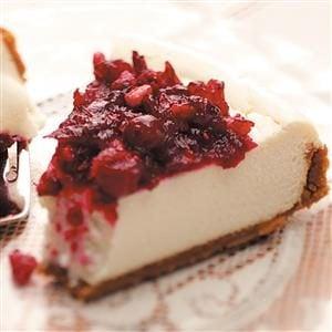 Creamy Cranberry Cheesecake Recipe