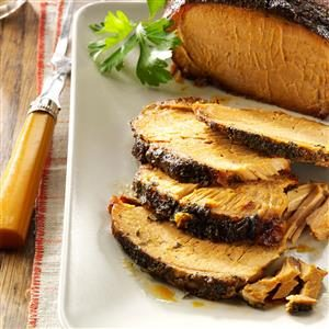 Garlic Apple Pork Roast