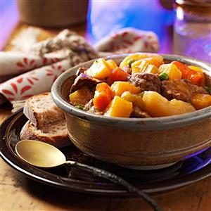 Hearty Hunter's Stew Recipe