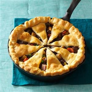 Pinwheel Steak Potpie Recipe