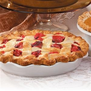 Pear-Cranberry Lattice Pie Recipe