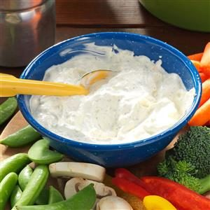 Fresh Vegetable Dip Recipe