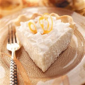 Coconut Chiffon Pie Recipe