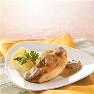 Lemon Mushroom Chicken Recipe