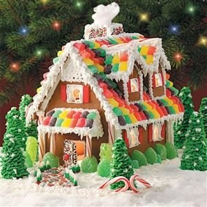 Gingerbread Christmas Cottage Recipe
