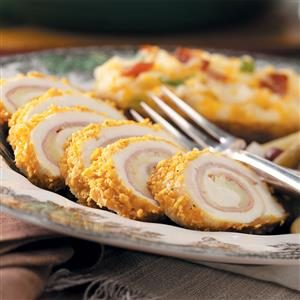 Chicken Cordon Bleu Rolls Recipe