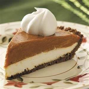 Gingersnap Pumpkin Pie Recipe