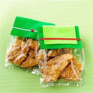 Maple-Spice Cashew Brittle Recipe
