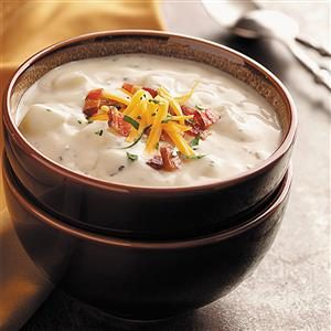 Zippy Baked Potato Soup Recipe
