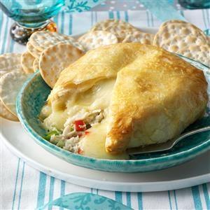 Crab-Brie Cheese Ball Recipe