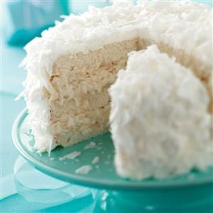 White Chocolate Coconut Cake Recipe