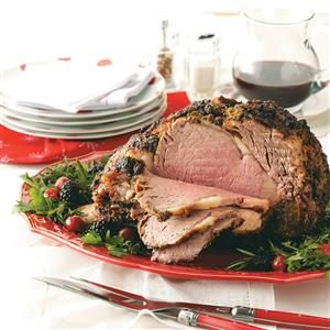Herb-Crusted Prime Rib Recipe