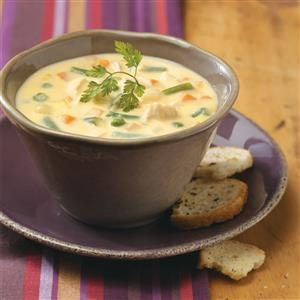 Cheese Chicken Soup