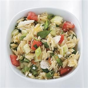 Italian Orzo Salad Recipe