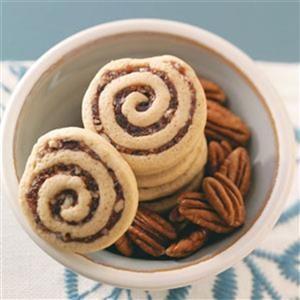 Pinwheel shaped cookie recipe