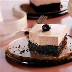 Mocha Cheesecake Bars Recipe