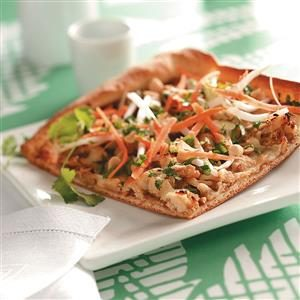 Pad Thai Pizza Recipe