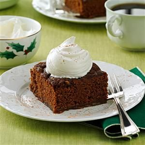 Spiced Pudding Cake