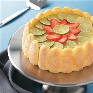 Refrigerator Lime Cheesecake