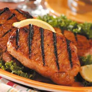 Garlic pork chops recipes