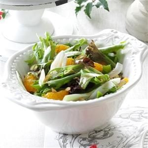 Fennel Salad with Orange-Balsamic Vinaigrette Recipe